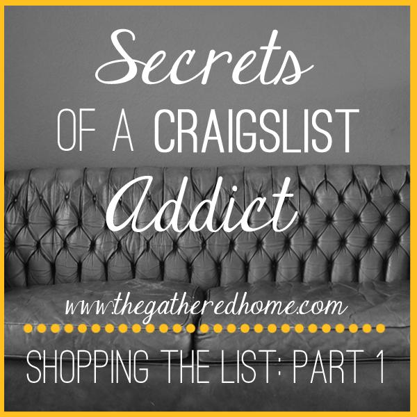 Secrets of a Craigslist Addict, Part 1: Keywords