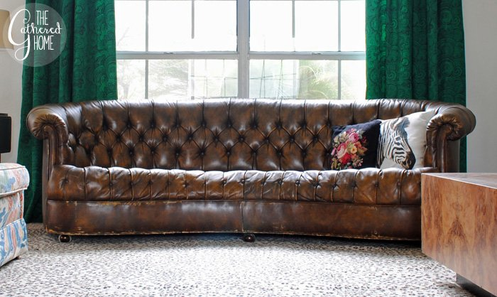 Beau Leather Chesterfield 8