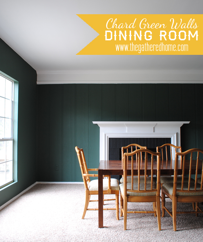 Dining room updates new chard paint color for What to put on dining room walls