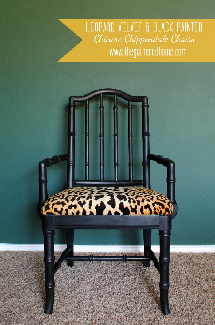 Attractive Itu0027s Just Perfect With The Leopard Velvet Fabric (Braemore Jamil Natural)u2026 Design Inspirations