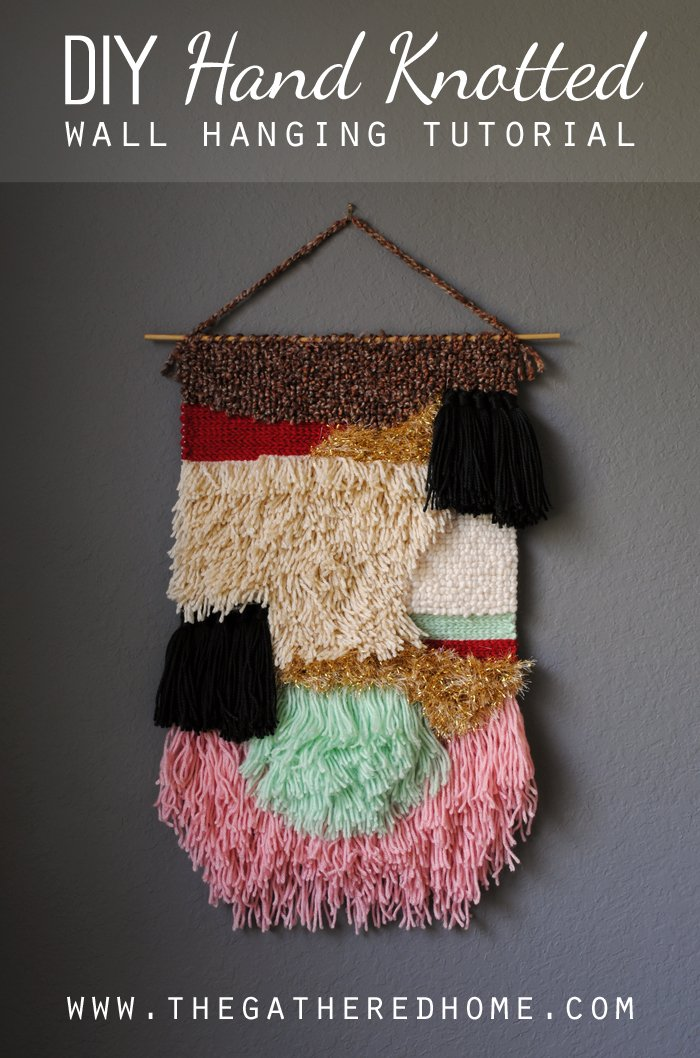 Diy Wall Hanging Tutorial The Gathered Home