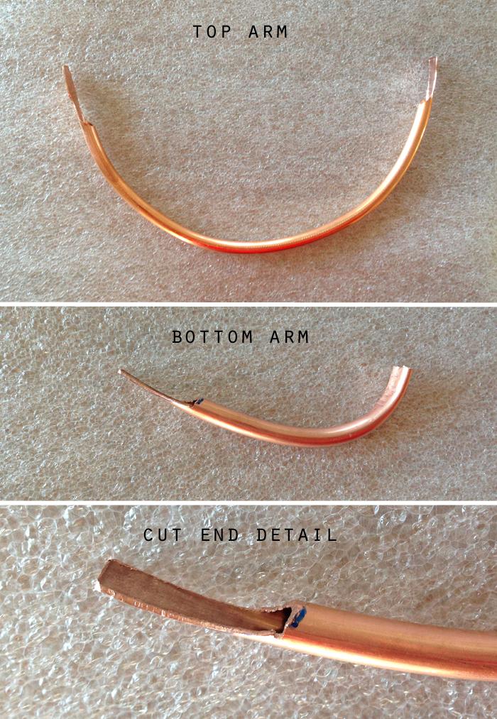 copper arms