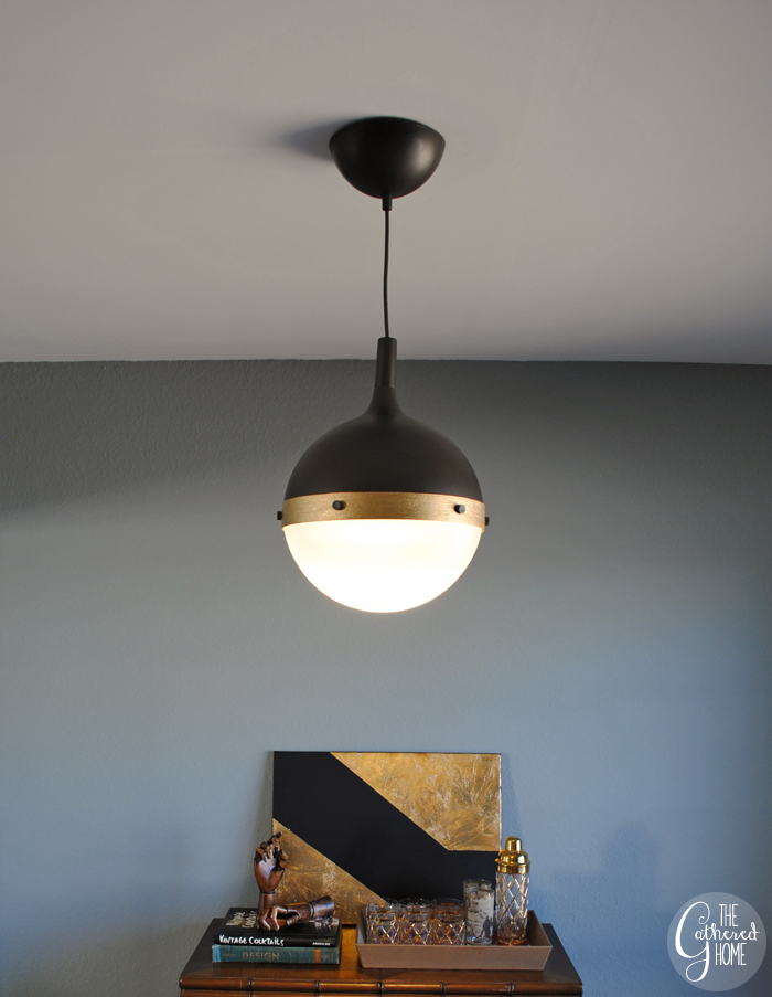 DIY Ikea Hack Hicks Pendant Light  The Gathered Home