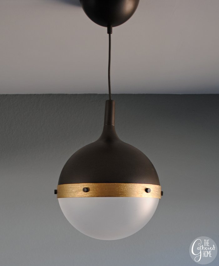 DIY Ikea Hack  Hicks  pendant light   www thegatheredhome com. DIY Ikea Hack  Hicks  Pendant Light   The Gathered Home