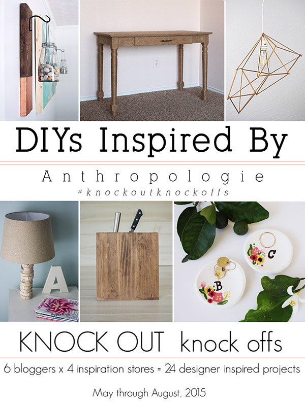 DIYs Inspired By Anthropologie #knockoutknockoffs