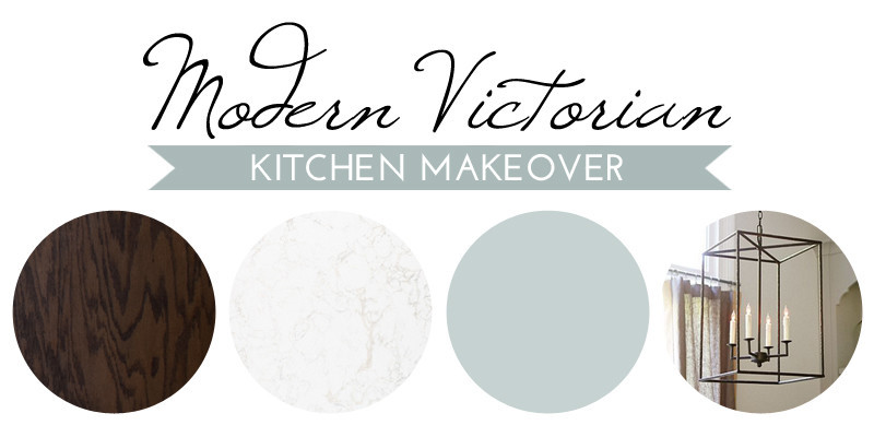 A Modern Victorian Kitchen Makeover: The Plan