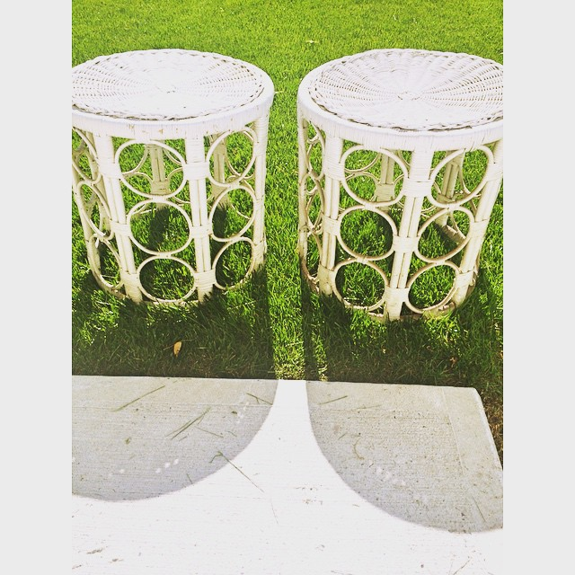 dearTST submission wicker side tables via myeclecticnest