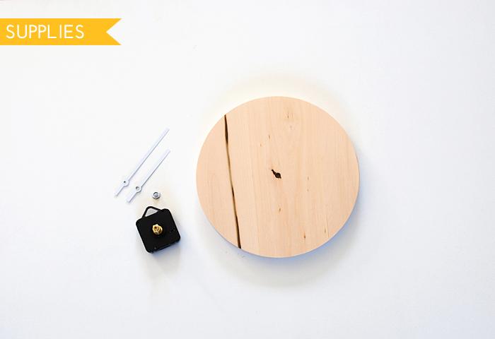 DIY Copper Patina Clock Supplies
