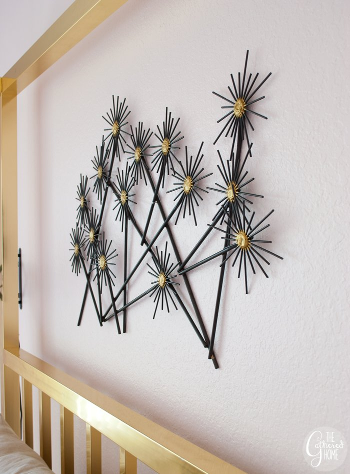 Diy Quot Metal Quot Flower Wall Hanging The Gathered Home
