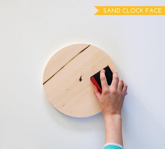 Sand Clock Face