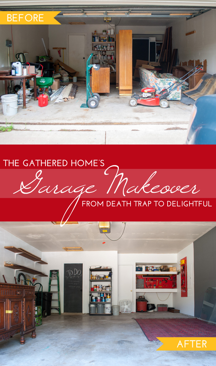 The Gathered Home's Garage Makeover