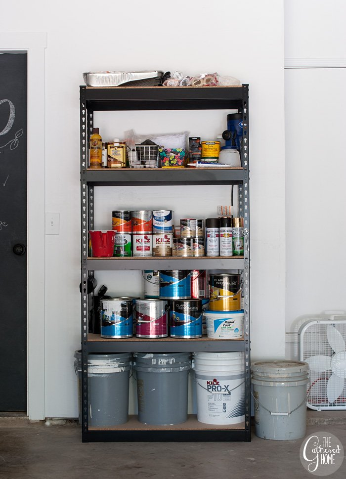 The Gathered Home's garage makeover: Phase 1