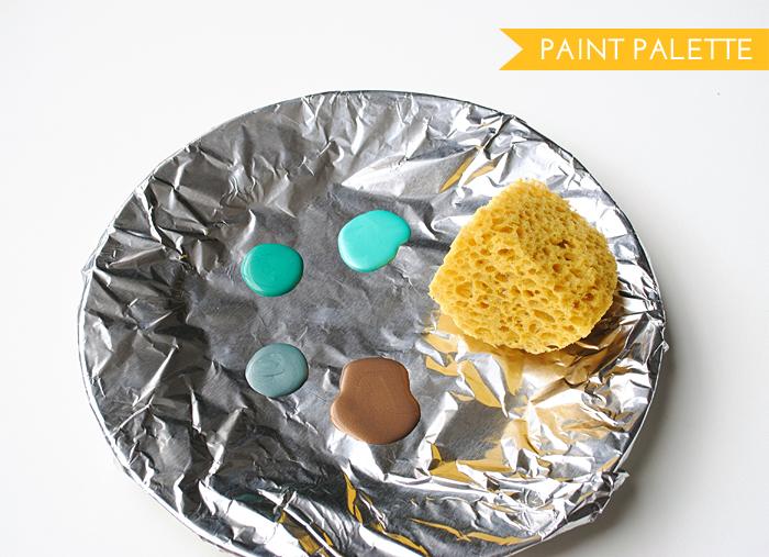 prep paint palette
