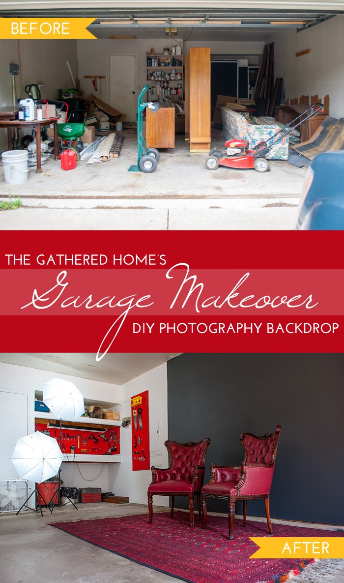 The Gathered Home's Garage Makeover Phase 2