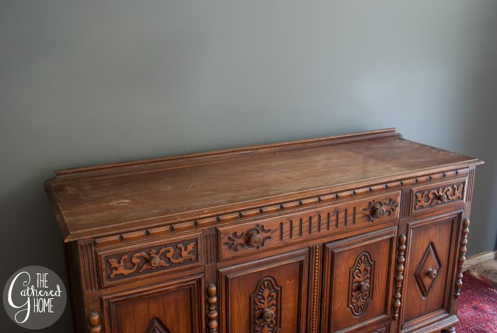 1920's sideboard before