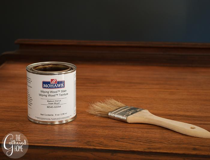 Mohawk wiping wood stain medium walnut
