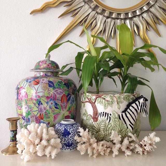 Thrift Score Thursday feature chinoiserie treasures via modbeachhouse