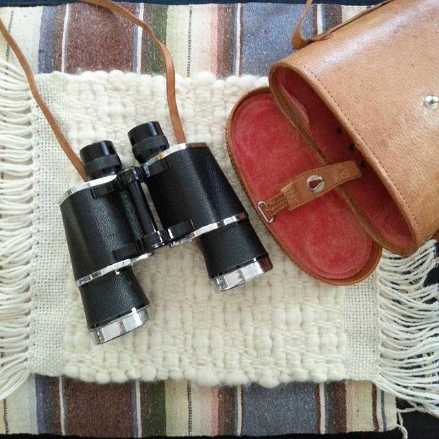 Thrift Score Thursday feature vintage field binoculars via erin_coleen