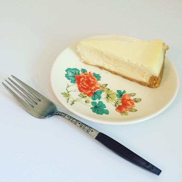 Thrift Score Thursday feature vintage floral dish fork via thisbellerocks