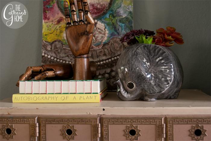 Thrift Score Thursday little gray elephant planter