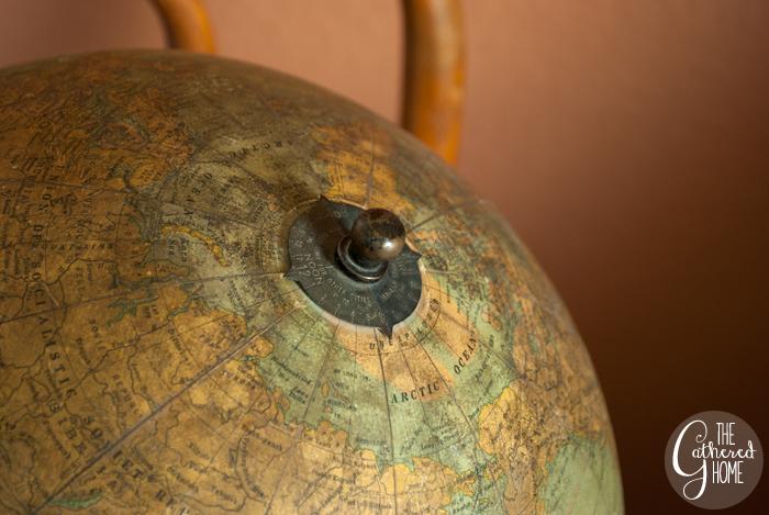 Thrift Score Thursday vintage globe 6