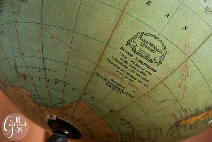 Thrift Score Thursday vintage globe 8