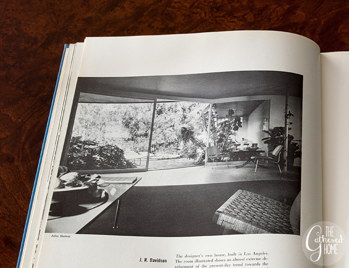 Room designed by J.R. Davidson, Living Spaces edited by George Nelson