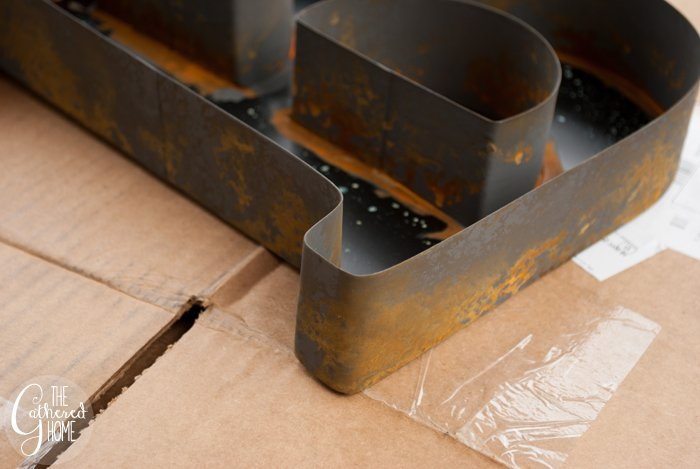 Iron Metallic Surfacer and Rust Antiquing Solution