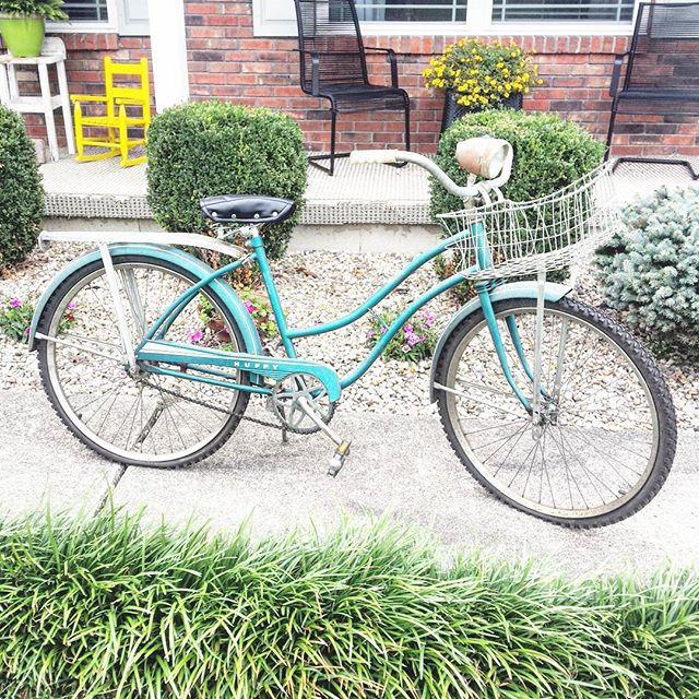 Thrift Score Thursday feature vintage bicycle via louloumint_etsy