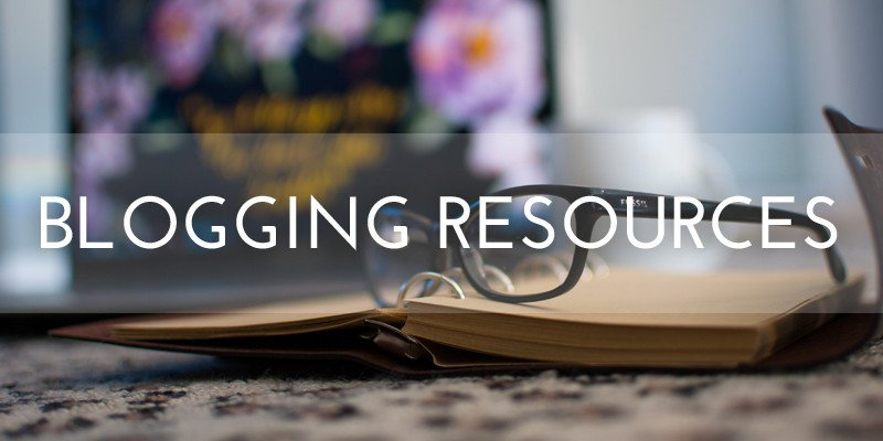 blogging resources page featured image