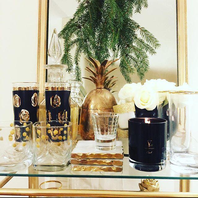 Thrift Score Thursday feature vintage glassware via elizabethrosedesigns_