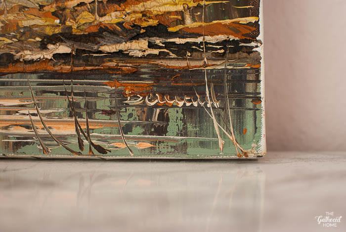 Thrift Score Thursday textured oil painting-3
