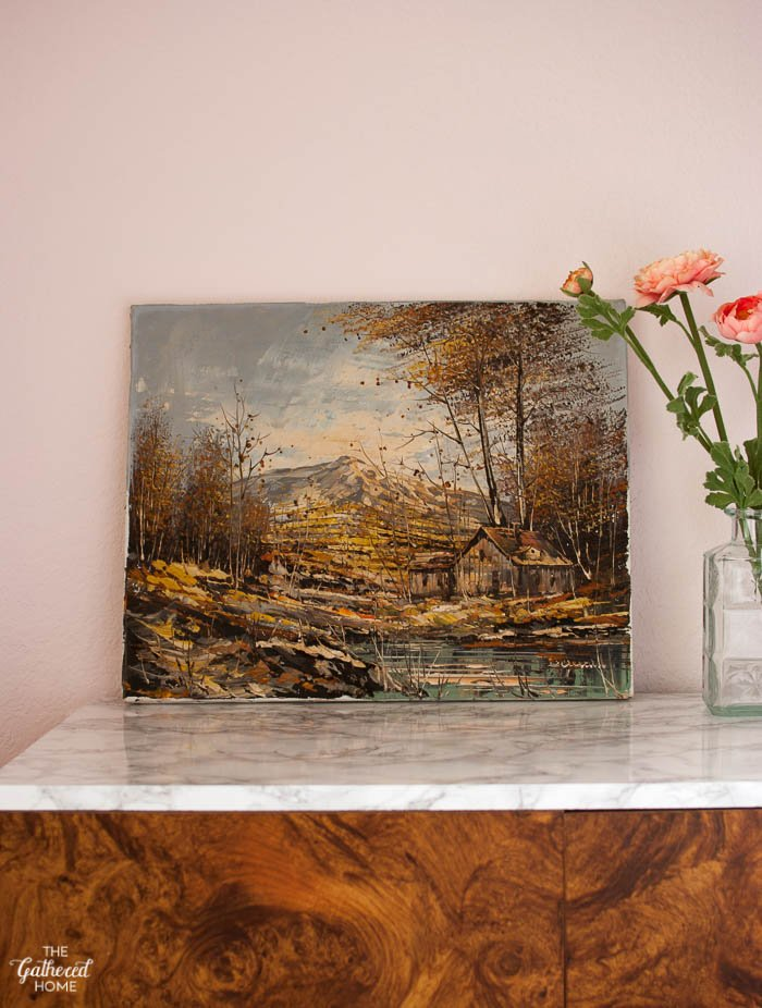 Thrift Score Thursday textured oil painting-6