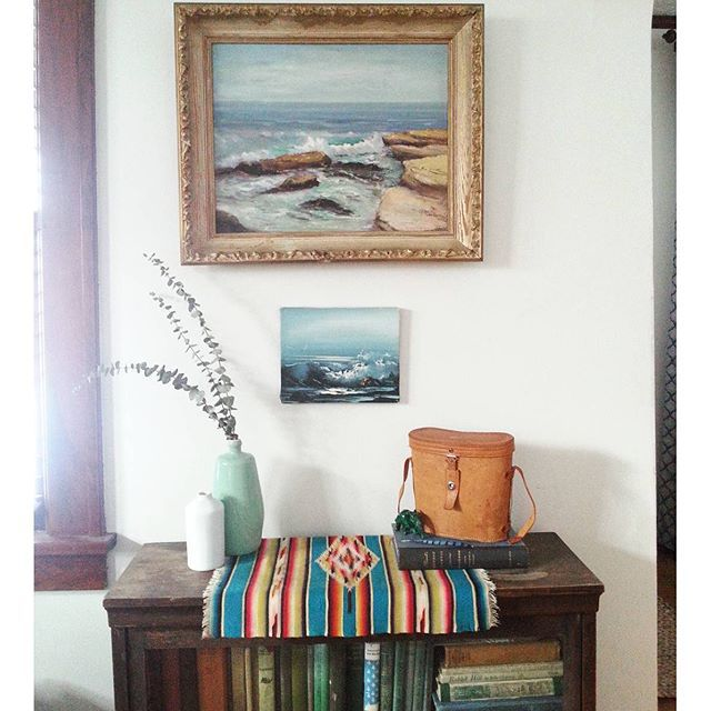 thrifted seascape via erin_coleen