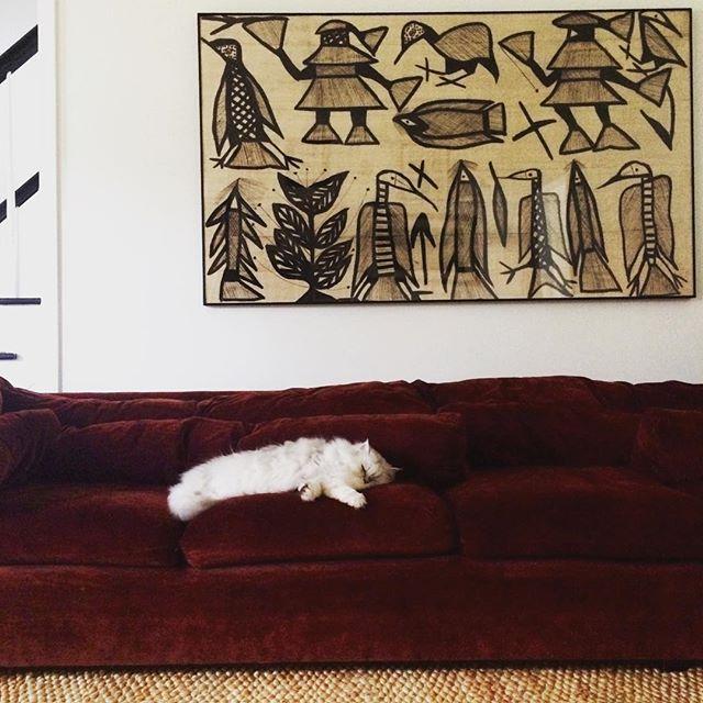 vintage African textile via winkwinkstudio 2