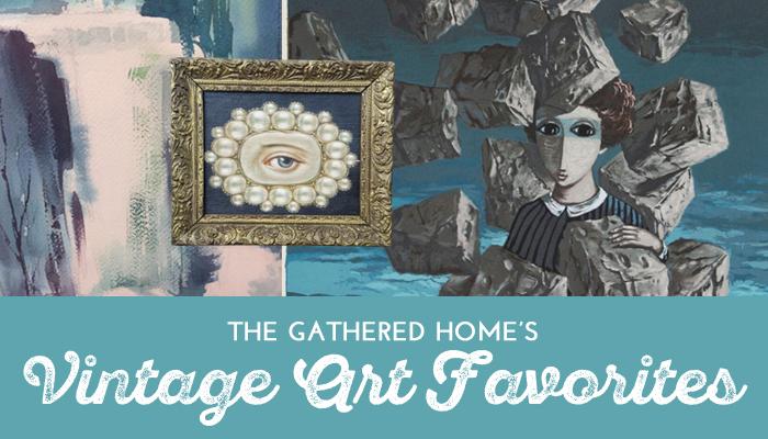 Gather This Vintage Art Favorites link image