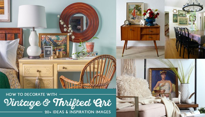 How to Decorate with Vintage and Thrifted Art link image