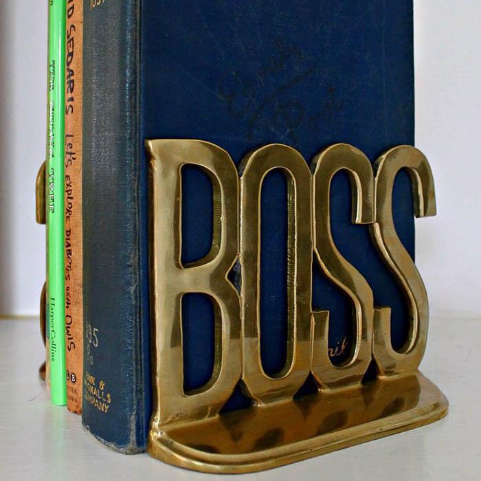 Thrift Score Thursday feature brass BOSS bookends via sarah_702parkproject (2)
