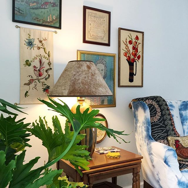 Thrift Score Thursday feature gallery wall via athomeonthebay