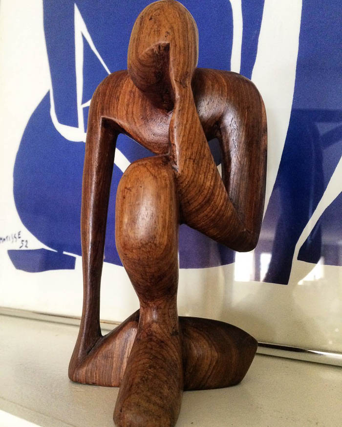 Thrift Score Thursday feature wooden abstract figure via doug_fritock