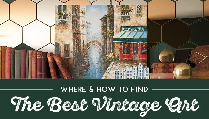 Where & How to Find The Best Vintage Art link image