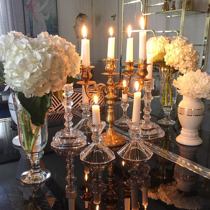 Candlestick Centerpiece via SoletoShare