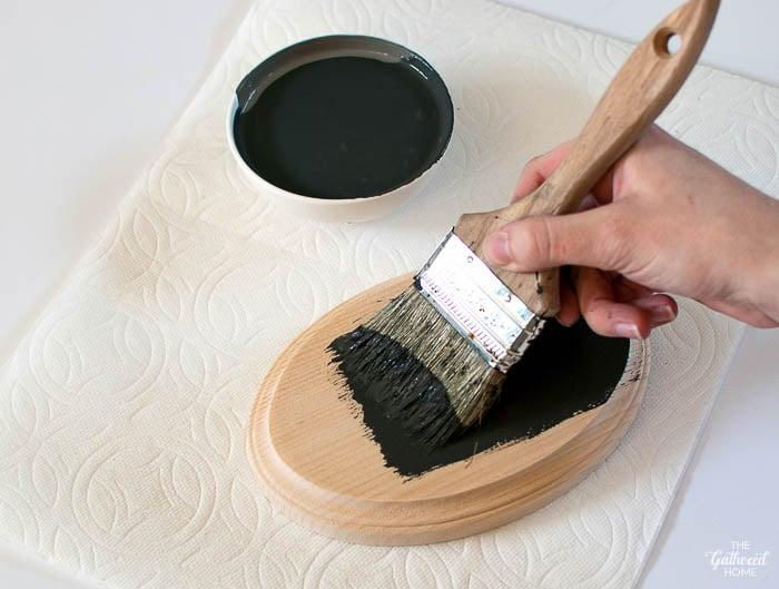 Paint wooden plaques