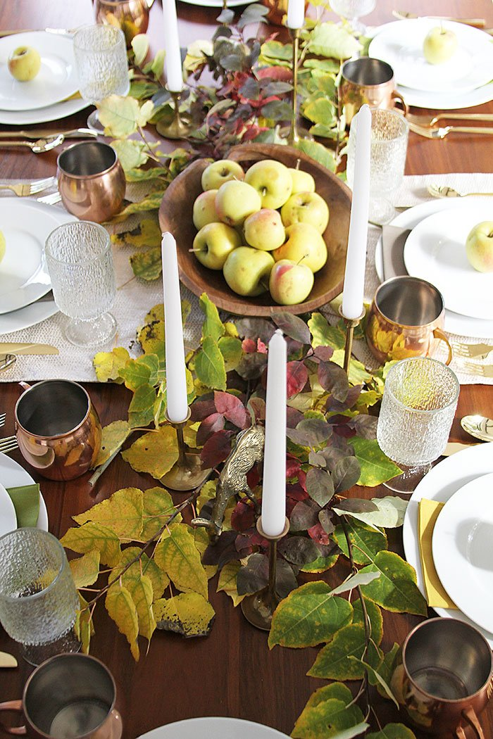 Thanksgiving Table Setting via With Heart