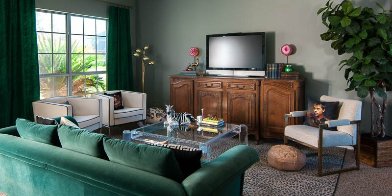 Eclectic Glam Living Room Tour + Sources