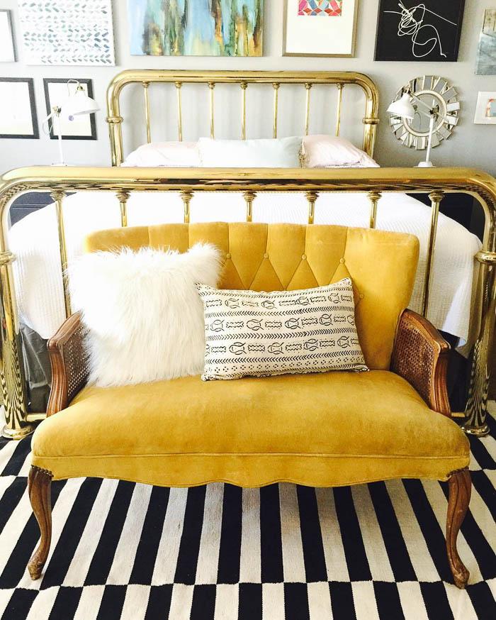 Thrift Score Thursday feature bedroom via bobettecarpenter