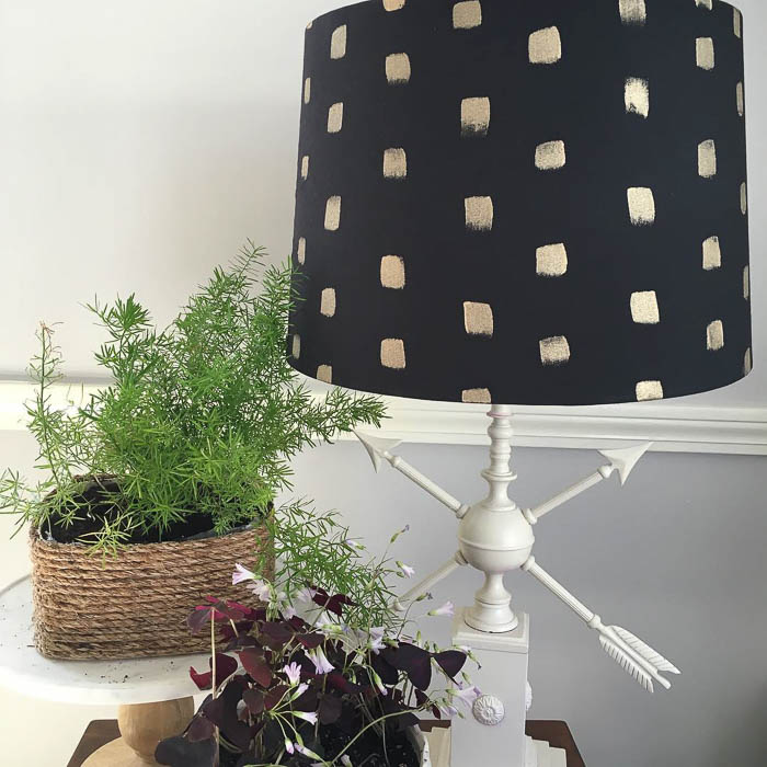 Thrift Score Thursday feature weathervane lamp redo via littleyellowcouch