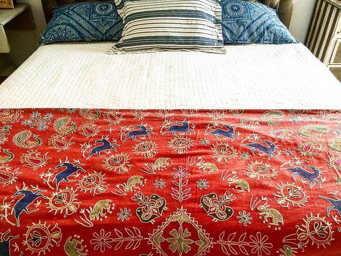 Embroidered Bedspread via shop_agneswatt