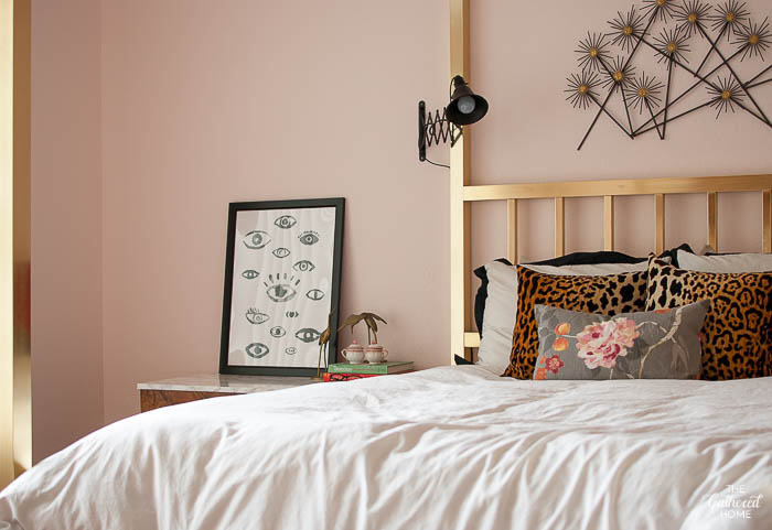 Blush Pink Master Bedroom Tour | The Gathered Home