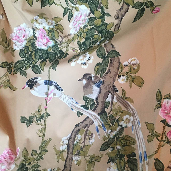 Thrift Score Thursday feature chinoiserie drapes via anatomyofdesign